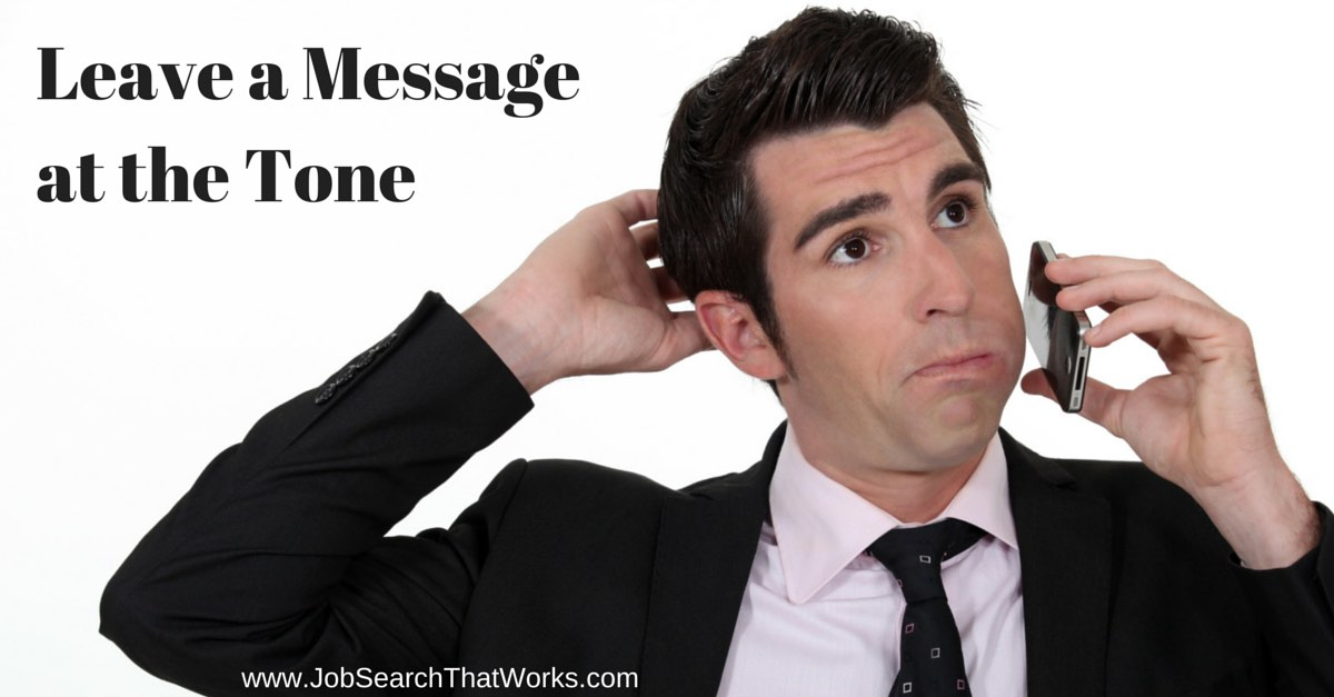 Leave a message at the ton