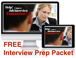 Free Interview Prep Packet